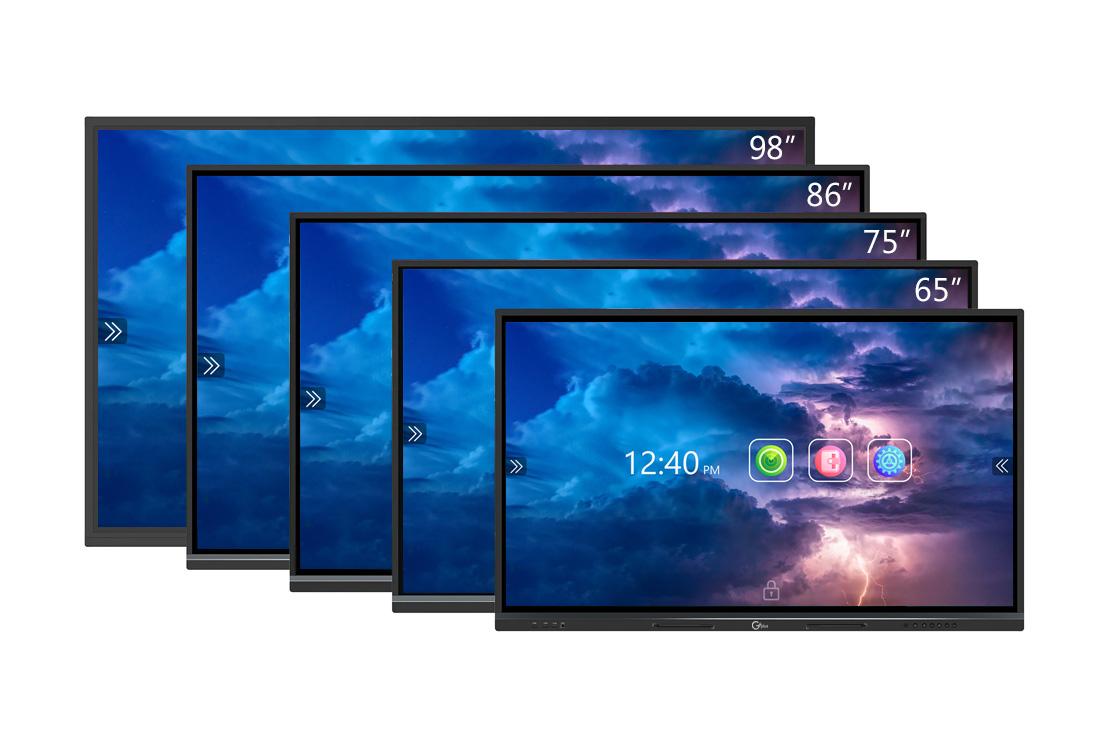 انواع سایز نمایشگرهای جی پلاس