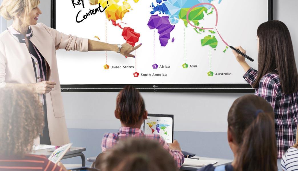 برد لمسی برای تدریس