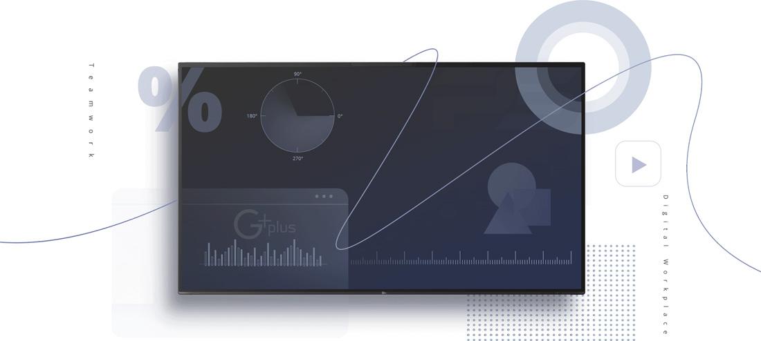 نمایشگر لمسی جی پلاس