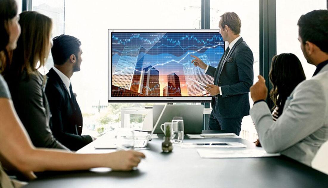 مانیتور تاچ اسکرین برای مراکز تجاری