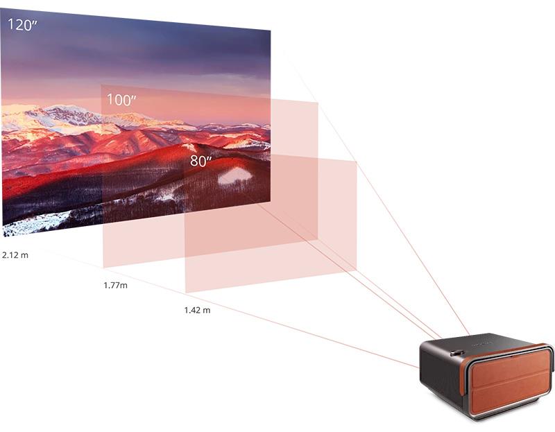 بررسی ویدئو پروژکتور x10-4k+
