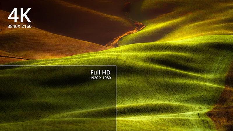 رزولوشن uhd ویدئو پروژکتور x10-4k